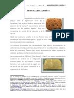 Historia Del Archivo Tema 1
