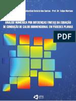 Análise numérica de condução bidimensional em parede plana por diferenças finitas no matlab