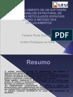 Drumond F.P. Desenvolvimento de Um Software Para Analise Estrutural