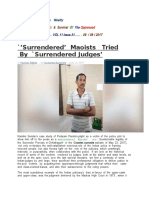 Surrendered   Judges
