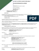 Protocolo de Las Infecciones Urinarias