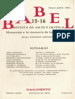 Manuel Rojas El Ultimo Combatiente 1941
