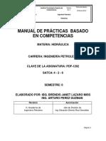 Manual de Practicas Hidraulica