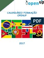 Calendário OpenUp 2017