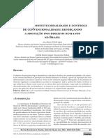 Bloco de Constitucionalidade - Davila