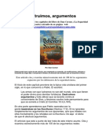 Destruyendo Argumentos (Refutando Objeciones de los Salvo Siempre Salvo).pdf