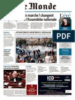 Le Monde Du Dimanche 23 Et Lundi 24 Juillet 2017