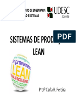 Udesc - Aula 01 - Fluxo Contínuo - Sistemas de Produção Lean - Profª Carla r. Pereira
