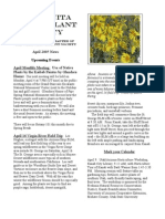 April 2005 Manzanita Native Plant Society Newsletter