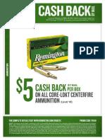 Remington Fall 2017 Ammo Rebates