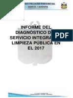 Informe Del Diagnostico Del Servicio Integral de Limpieza