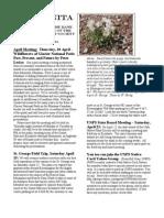 April 2006 Manzanita Native Plant Society Newsletter