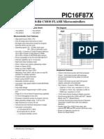 16F877 Data Sheet