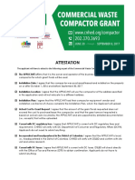 Compactor Attestations List