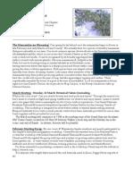March 2007 Manzanita Native Plant Society Newsletter