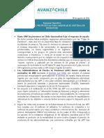 Diagnóstico y Propuestas Para Mejorar El Sistema de Pensiones