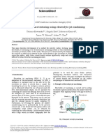 Selective Surface Texturing Using Electrolyte Jet Machinin 2014 Procedia CIR
