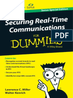 Secure Real-Time Communications for Dummies