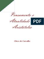 00 Olavo de Carvalho - Pensamento e atualidade de Aristóteles.pdf