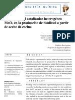 Informe Biodiesel