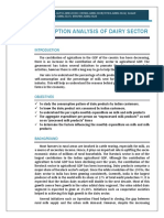 Group 4 New - Consumption Analysis of Dairy Sector