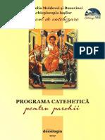 Programa Catehetica 2017 (Finala)