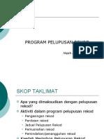 Program Pelupusan Rekod