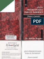 Adrián Rogers - ¿Está Predestinado Para El Infierno - ¡Nunca Jamás!.pdf