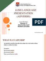 Presentation - Adverb