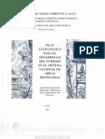 Plan Estratégico Para El Desarrollo Del Turismo en El Sistema Nacional de Áreas