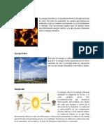 12 Tipos de Energía