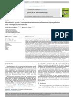 Myasthenia Gravis a Comprehensive Review of Immune Dysregulation and Etiological Mechanisms