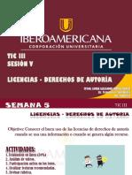Presentación Sesion 5 - Tic III