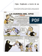 Guerra Del Opio en Comic - Guerra Contras Las Drogas Psiquiatricas