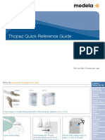 Thopaz Cardiothoracic Drainage System Quick Guide