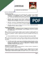 CV Ouédraogo Moussa