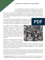 Los Materiales Audiovisuales en La Enseñanza y El Aprendizaje