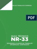 Guia Técnico NR 33 Atual