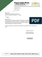 Surat Permohonan PLN