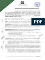 001-2017 Sobre Perdida de Personeria de Partidos o Movimientos Politicos