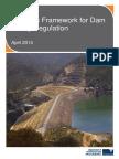 Strategic Framework for Dam Safety Regulation April2014