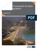 Strategic Framework for Dam Safety Regulation April2014