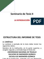 Seminario de Tesis II Reglamento