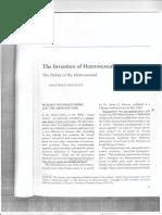 Invention of Heterosexuality