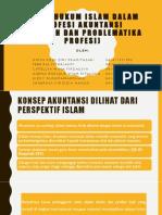 Aspek Hukum Islam Dalam Profesi Akuntansi