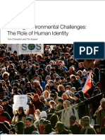 Meeting Environmental Challenges the Role of Human Identity