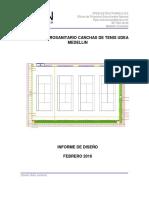 Informe de Diseño Cancha Udea