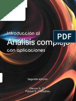 Introducción Al Análisis Complejo Con Aplicaciones - 2ED - Zill, Shanahan