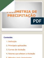 2014- Volumetria de Precipitacao