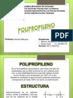 Procesos. polipropileno.